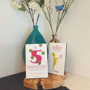 Boek en kaarten - De 5 kindconclusies